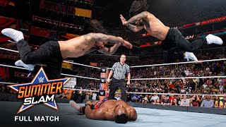 FULL MATCH - The New Day vs. The Usos - SmackDown Tag Team Titles Match: SummerSlam Kickoff 2017