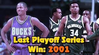 The Milwaukee Bucks Playoff Series Drought