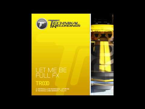 Technikal & NG Rezonance - 'Let Me Be'.wmv