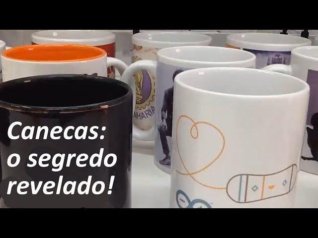 O SEGREDO DAS CANECAS!