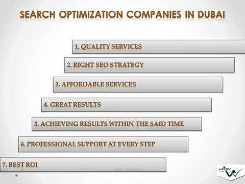 best seo agency in dubai