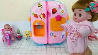 Baby Doll Refrigerator Toys Kinder Joy Bayi Mainan boneka kulkas Picardias refrigerador Juguetes