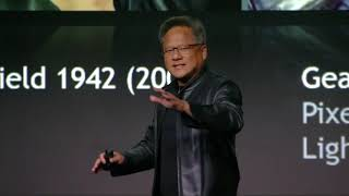 NVIDIA Press Event at CES 2019 with NVIDIA CEO Jensen Huang