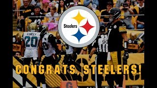 Congrats, Steelers!