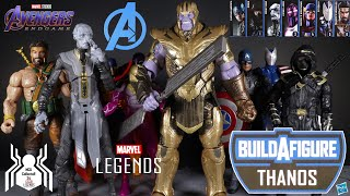 Marvel Legends ARMORED THANOS Build A Figure BAF Avengers Endgame Wave 3 Figure Review and Ranking