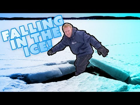 DON'T WALK ACROSS YOUR FROZEN POND!!!