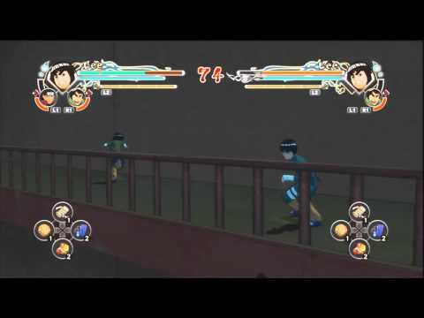 Baixar Naruto Generations: Bug de levitação na tela do exame chunnin