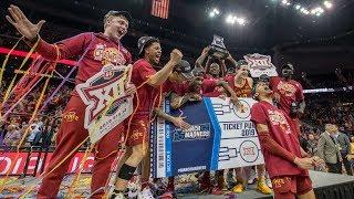 Iowa State Basketball Big 12 Championship Final vs Kansas