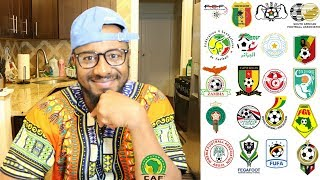 My Ultimate African 2018 FIFA World Cup Qualifiers Predictions | Road To Russia