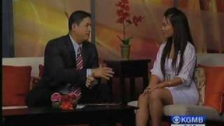 Gina Hiraizumi on KGMB 9, Hawaii News Now,
