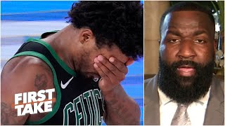 Kendrick Perkins defends Marcus Smart for confronting Celtics teammates after Game 2 | First Take