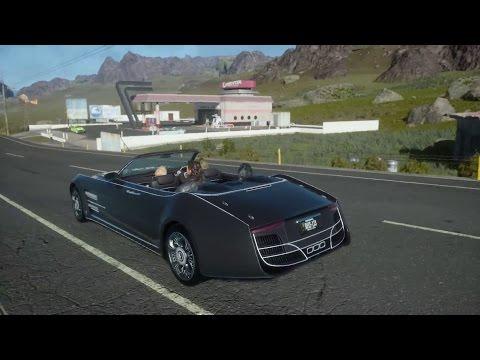 Final Fantasy 15/Final Fantasy XV - Open World Gameplay (PS4) (HD)
