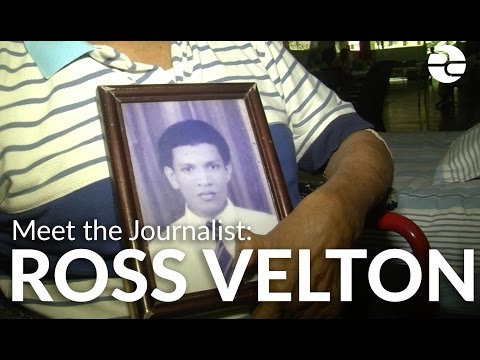 "Meet the Journalist: Ross Velton on ""The Ghosts of Leprosy"""