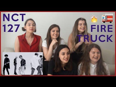 NCT 127 - FIRE TRUCK MV REACTION
