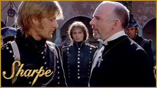 Sharpe Attempts To Save Lass | Sharpe