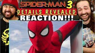 SPIDER-MAN 3 Details Revealed! - REACTION!!!