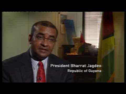 Climate Thinkers: Bharrat Jagdeo