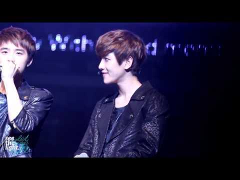 [HD]121013 The K Show - Baekhyun's rap!!;b