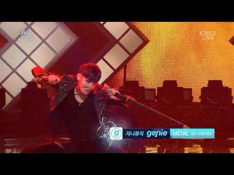 1080p 141226 EXO TAO Metal Song + Dance battle @ KBS Gayo Daechukje