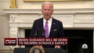 President Joe Biden's full address on his Covid-19 response plan