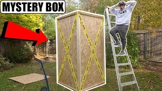 (Scary) The WORLDS Biggest Dark Web Mystery Box Opening (Alive Monster Inside)