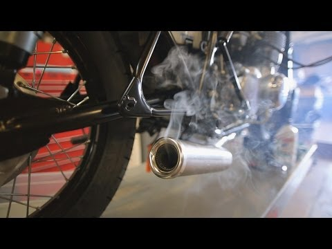 Motorcycle Restoration Part 8: Starting The Engine