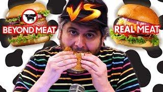 Fake Meat vs Real Meat Fast Food Taste Test