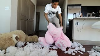 TEDDY BEAR SCARE PRANK!!!