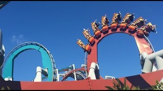 Dragon Challenge Roller Coaster Off Ride POV Universal Studios Islands of Adventure Wizarding World