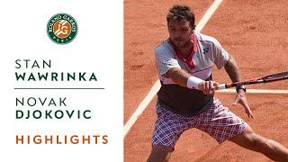 Stan Wawrinka v Novak Djokovic Highlights - Men's Final 2015 - Roland-Garros