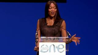 Naomi Campbell welcomes OYW 2019 to London