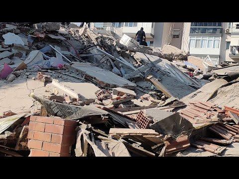 A 6.6 magnitude earthquake hits Turkey and Greece