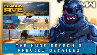 Modern Warfare: The MASSIVE SEASON 5 REVEAL (New Maps, Weapons, Warzone Changes & More)