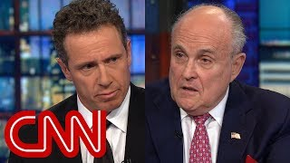 Chris Cuomo presses Rudy Giuliani on pardons comment