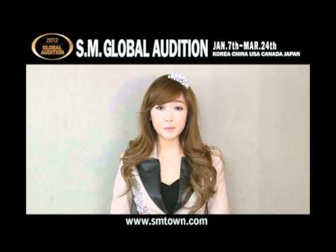2012 S.M. GLOBAL AUDITION ARTIST Message (ver.ENG)