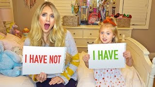 Never Have I Ever With 6 Year Old Everleigh!!! (We Cant Believe She Admitted This...)