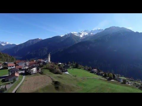 Zosuv skál vo Švajčiarsku