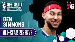 Best Of Ben Simmons 2019 All-Star Reserve | 2018-19 NBA Season