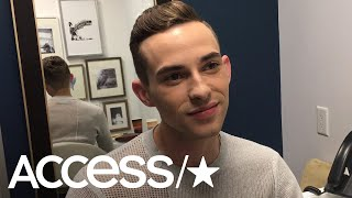 Adam Rippon Reacts To Haters Who Trolled His 2018 Oscars Outfit: 'They're Probably Boring' | Access