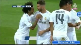 هدف ريال مدريد الثاني على غلطة سراي في كاس سانتياغو برنابيو (2015/8/18) HD ...