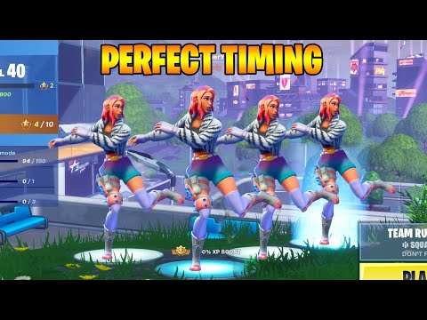 FORTNITE PERFECT TIMING Best Moments #8