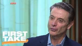 First Take analyzes Rick Pitino's exclusive interview with Jay Bilas   First Take   ESPN