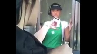 Watch: Starbucks customer confronts employee for stealing credit card info