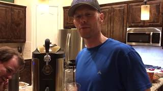 Nostalgia Homecraft on tap beer growler
