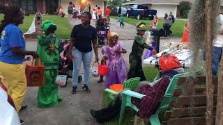 Holly Hill Scarecrow Scares the Crap Out of Trick-or-Treaters and Their Parents