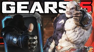 GEARS 5 Expressions Gameplay - New Gears 5 Emotes & COG/Swarm Voice Lines!