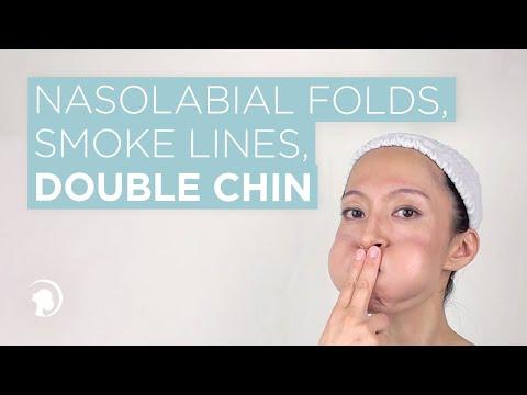 1 Facial Exercise For Nasolabial Folds Smoke Lines And