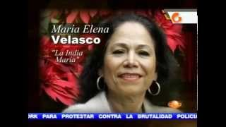 LA INDIA MARIA FALLECE EN LA CIUDAD DE MEXICO VICTIMA DE CANCER.