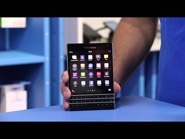 Belsimpel.nl-productvideo voor de BlackBerry Passport Black