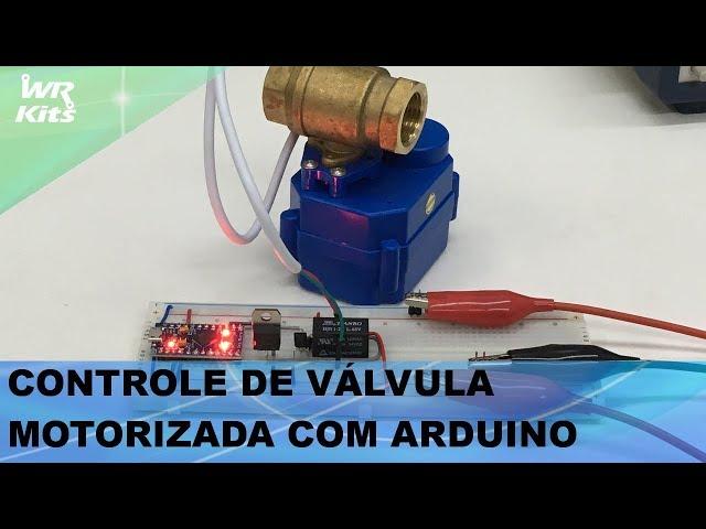VÁLVULA MOTORIZADA PARA PROJETOS DE IRRIGAÇÃO!
